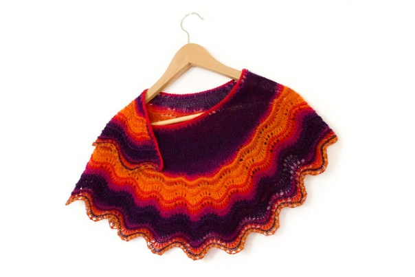 One Skein Andalusia Shawl knitting pattern