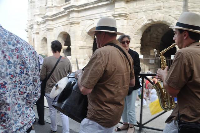 La Féria d' Arles Musicians, Arles, France, Sept. 2013