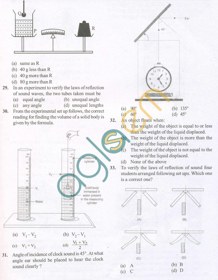 CBSE Solved Sample Papers for Class 9 Science SA2