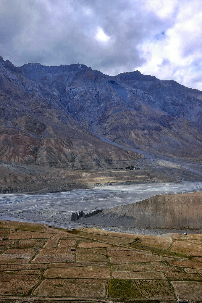 Across the Spiti valley