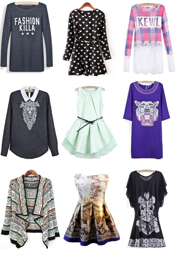 clothes wishlist