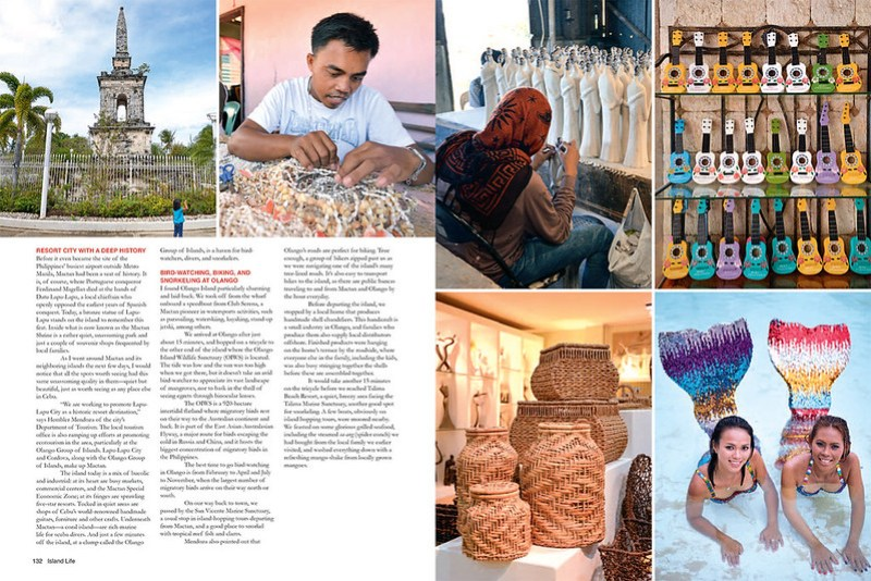 Media: AsianTraveler Magazine Philippines, Island Life Special Issue 2014