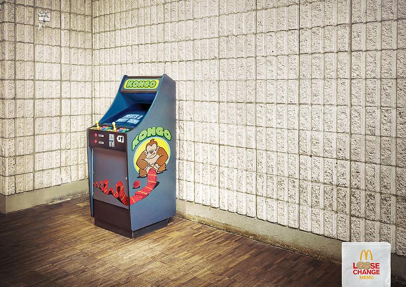 Mcdonald's change onely_arcade