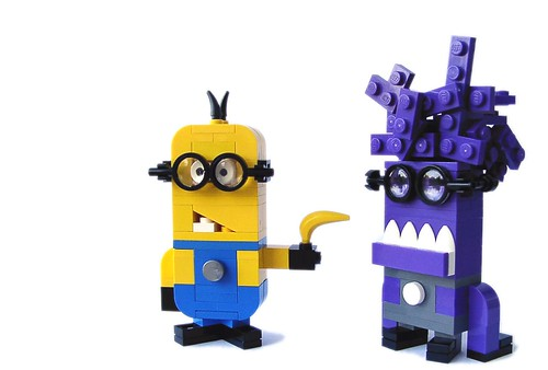 Despicable Me 2 Minion's (dark purple)