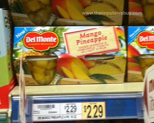 Del Monte Mango Pineapple Cups