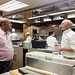 """Mumbai University Management Council Member A.P. Mahajan met with Chef Gale O`Malley, from Kapiolani Community College's Culinary Arts Program.  The University of Mumbai delegates observed his """"Fundamentals of Baking"""" class in action."""