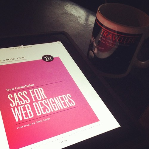 Waking up to coffee and @simplebits' new ebook. My kinda morning. style='max-width:100%;' data-recalc-dims=