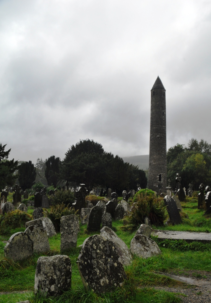 Round Tower in Glendalough