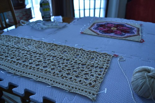 WIP: April Crochet Club 2012