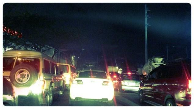 Kalayaan traffic