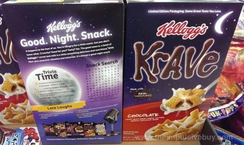 good night snack krave