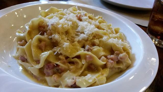 salted egg pasta