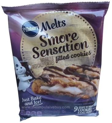Pillsbury Melts S'more Sensation Filled Cookies
