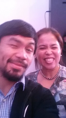 Selfie with Manny