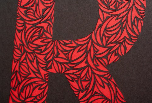 Custom paper cut letters-4