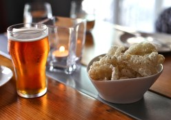 Pork scratchings and beer | The Fat Badger