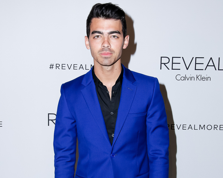 Joe Jonas at the Calvin Klein Reveal launch