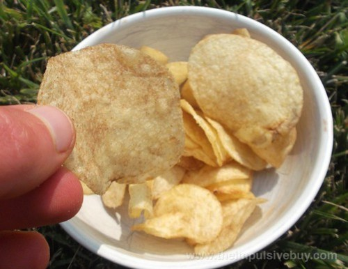 Lay's Do Us a Flavor Finalist Cappuccino Potato Chips Closeup