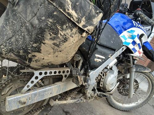 A bit of mud