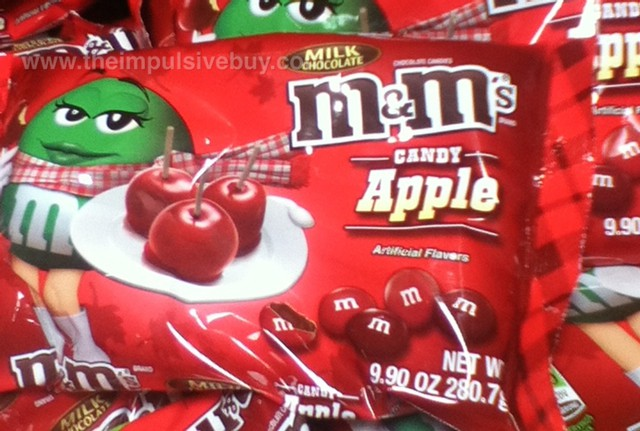 Candy Apple Milk Chocolate M&M's