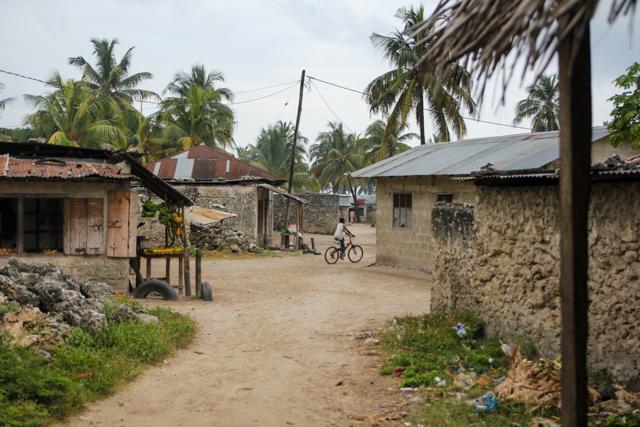 Exploring the village