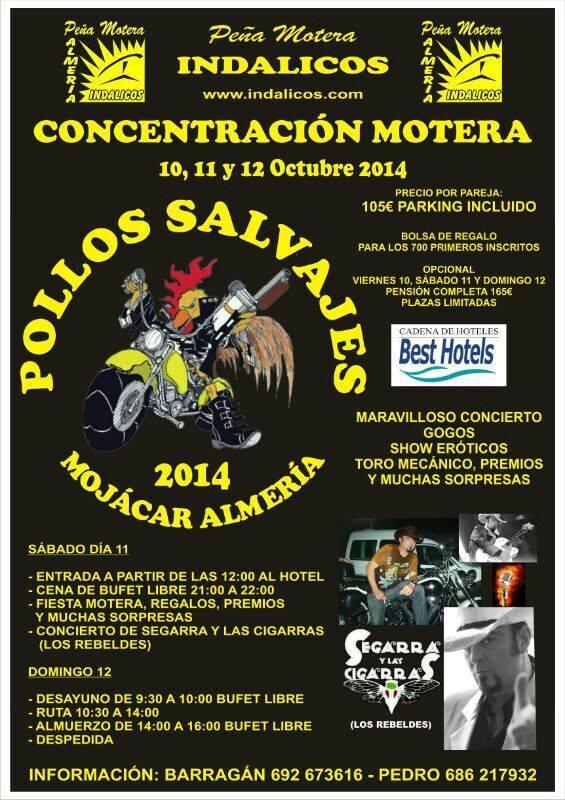 Pollos Salvajes 2014 (Mojácar)