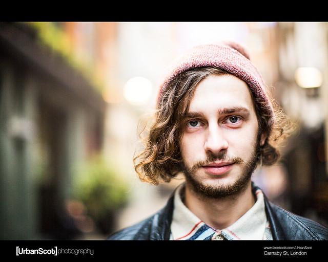 Street Portrait Challenge 015/100 Carnaby Street
