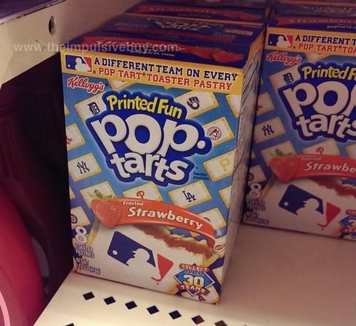 Kellogg's MLB Printed Fun Frosted Strawberry Pop-Tarts