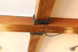 Depencier House | Original beams