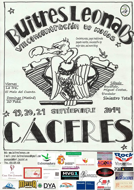 VIII Concentración Buitres Leonados - Cáceres