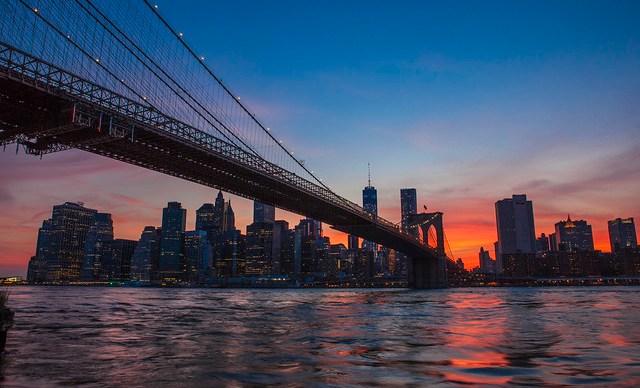 New York City Sunset 2014