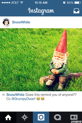 INSTAGRAM DISNEYPRINCESS SNOWHITE