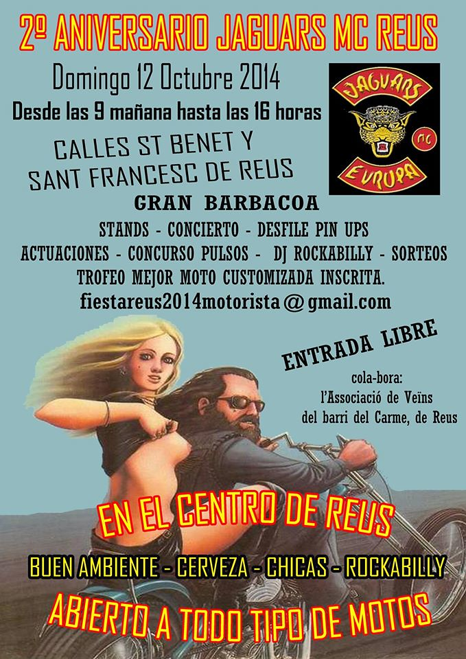 2º Aniversario Jaguars MC Reus