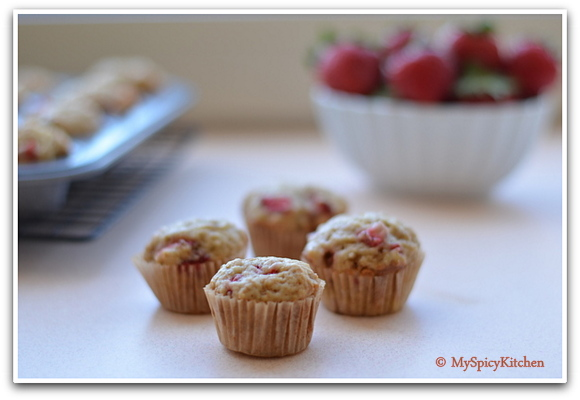 Strawberry Banana Muffins, Breakfast