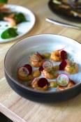 Grilled Humpback Shrimps, Butter, Sea Salt, Oaked Chardonnay | Blacktail Florist