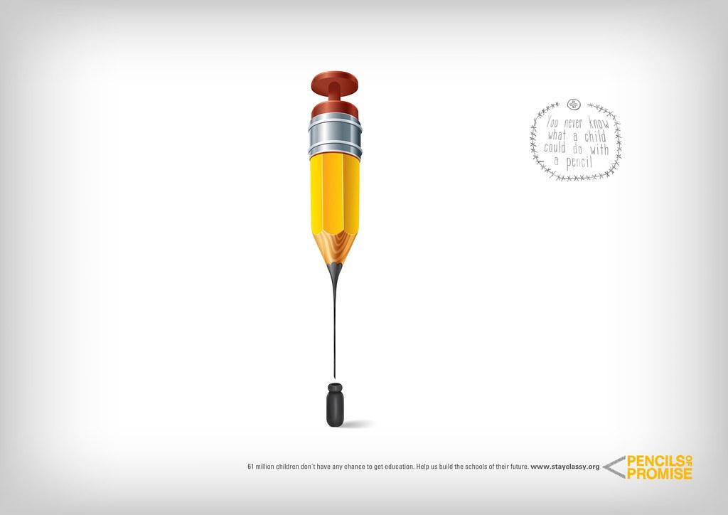 Pencils Promise - Thin Pen