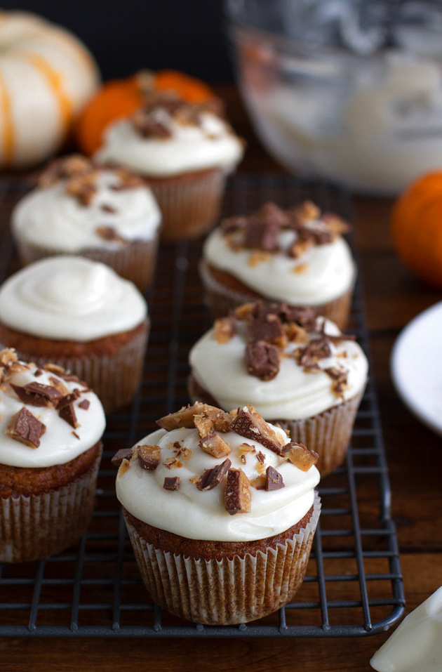 pumpkin cupcakes is a master recipe to use for all sorts of pumpkin ...
