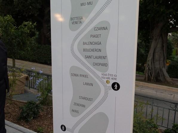Store Map of Les Pavillons de Monte Carlo