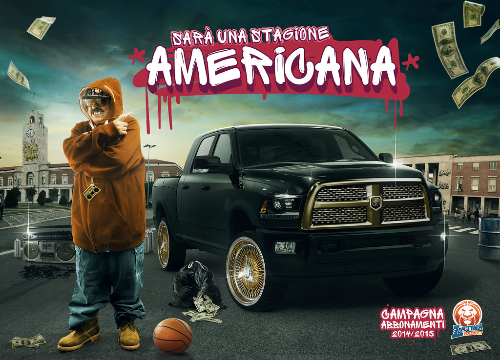 Latina Basket Season Ticket Campaign - An American Season 1
