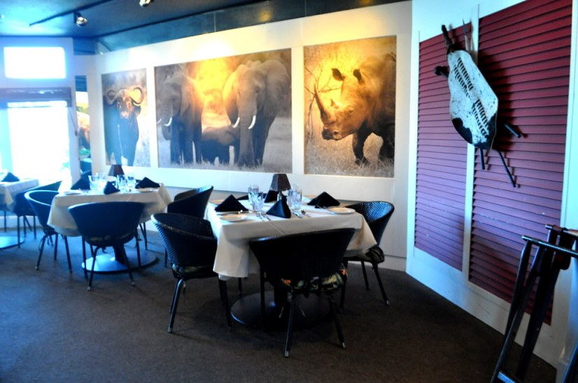 Inside Dining at Elephant Walk at Sandestin Golf and Beach Resort, South Walton, Florida, Oct. 25, 2014