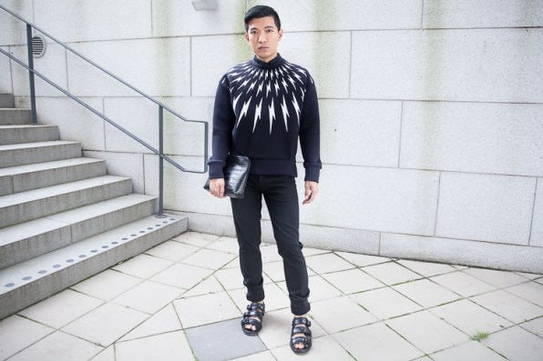 Neil Barrett Lightning Bolt Sweater
