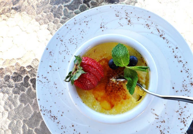 White Chocolate Crème Brûlée - Elephant Walk at Sandestin Golf and Beach Resort, South Walton, Florida, Oct. 25, 2014