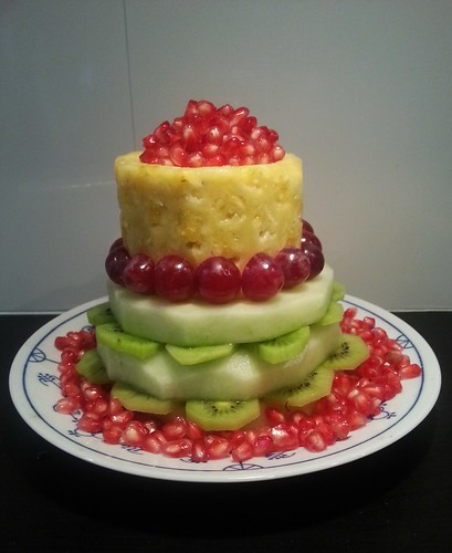 fruittaart, gezond trakteren