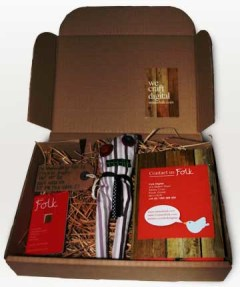 The We Are Folk box