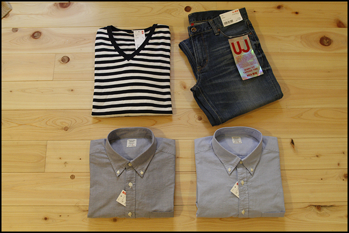 Stuff from Uniqlo