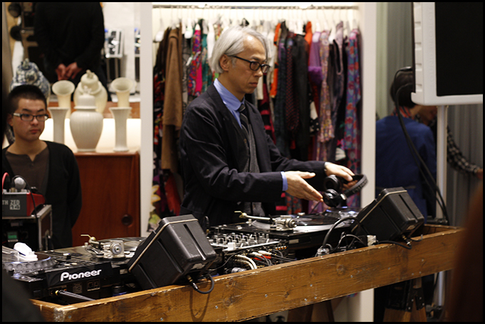 2010.04.27 Pass The Baton Omotesando Store Opening Party 2
