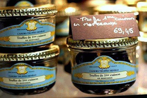 Henras truffles