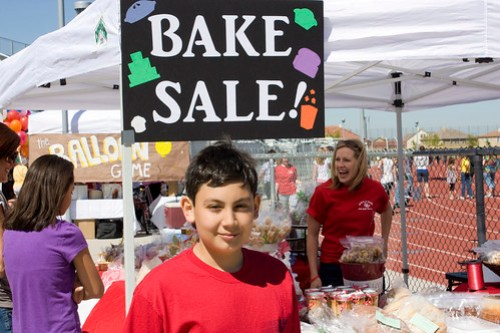 Bake Sale Booth @ the Help Make a Miracle Carnival for baby Daylon