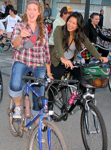 Girls on Bicycles San Jose
