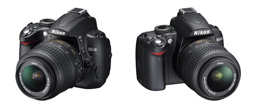 Nikon D5000 and Nikon D3000